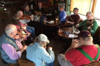 Irish Trad Session at The Dubliner in ST. Paul