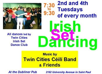 set dancing at the Dubliner